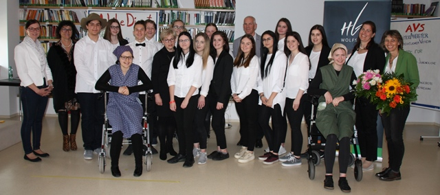 Abschlusspräsentation von SchülerInnen der HLW Wolfsberg